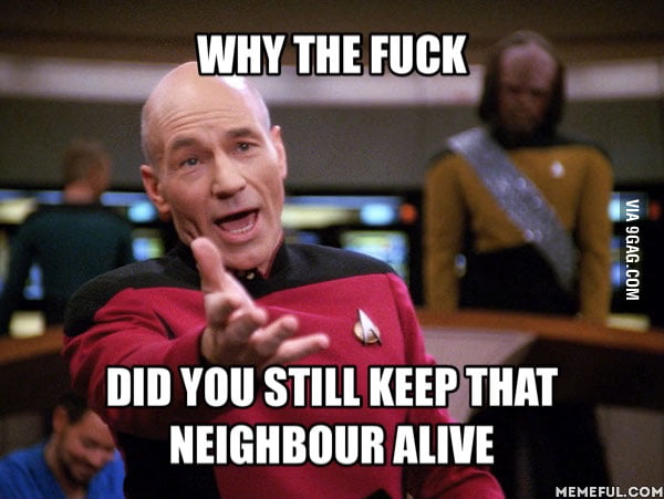 When I read about the guy who's dog was intentionally poisoned by his neighbour...