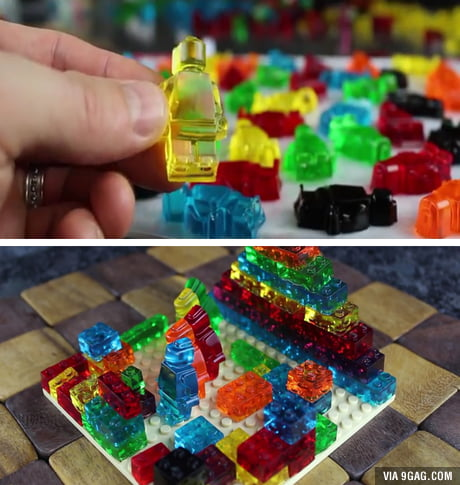 These are the LEGOs that you can actually swallow