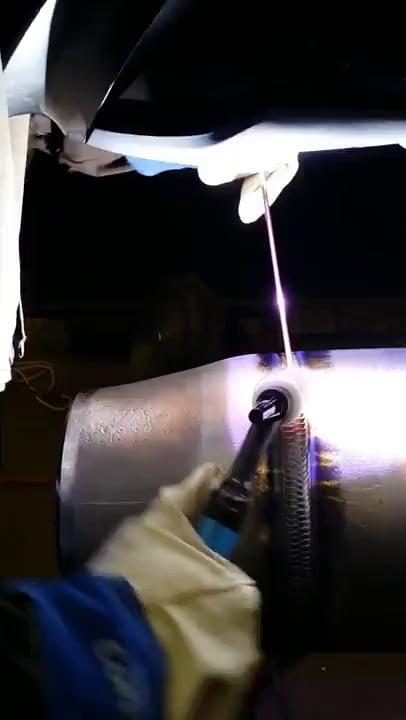 Cobra style welding
