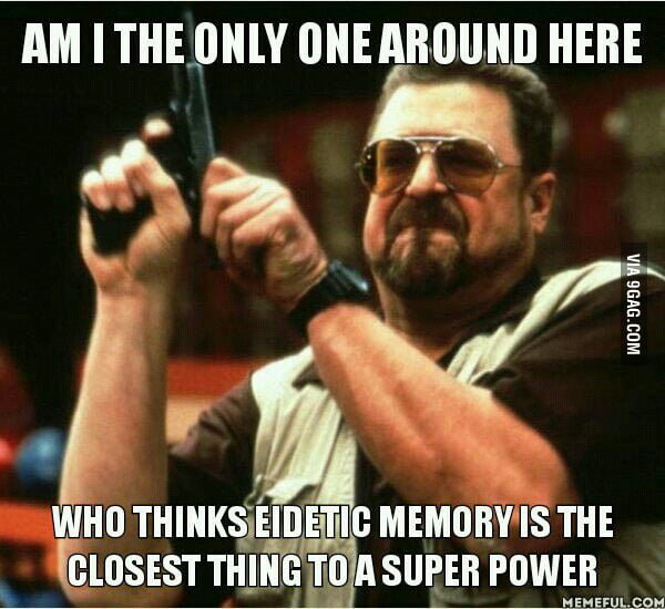 As a person with terrible memory I would literally kill for it...