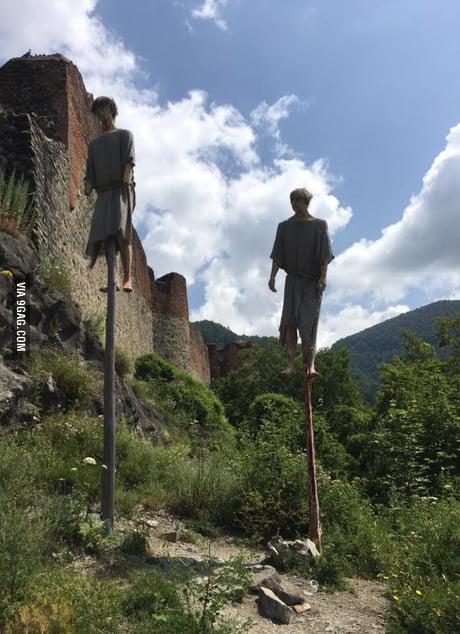 Vlad the Impaler's Castle gets new props