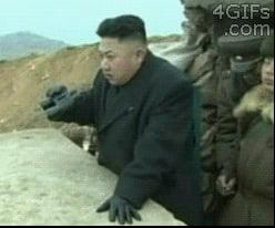 North Korea lately.