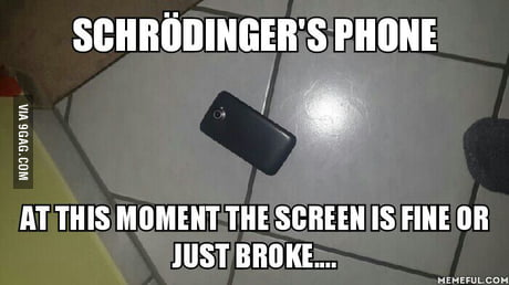 The Moment when your Phone hits the groun