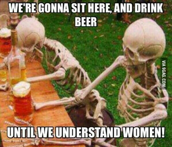 Yup... Until we understand them...
