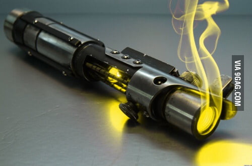 Am I the only one who would choose a yellow lightsaber?