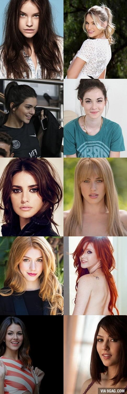 Celebrities and pornstars that look alike...