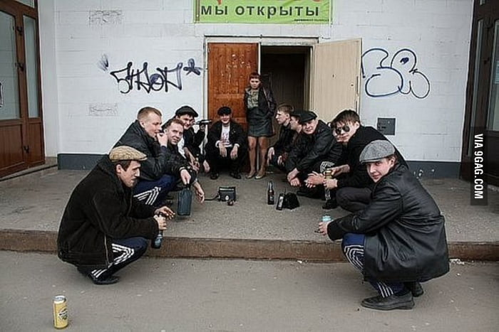 One of them is not a true Slav. Can you spot the Western spy?