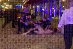 Naked Ninja VS 3 police