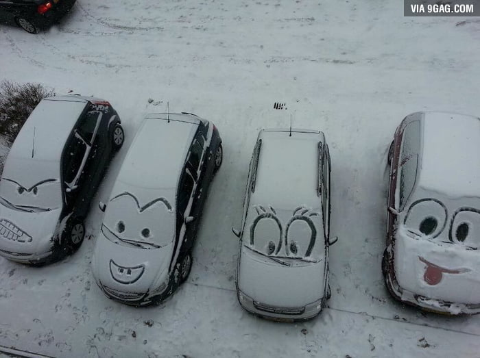 I know what I'm doing the next time it snows