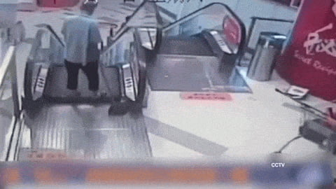 Let's take the stairs instead