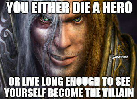 Warcraft 3 and WoW players will remember