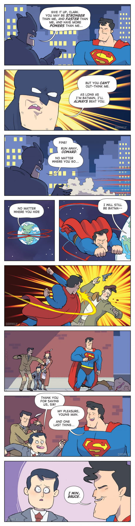 Superman Wins!
