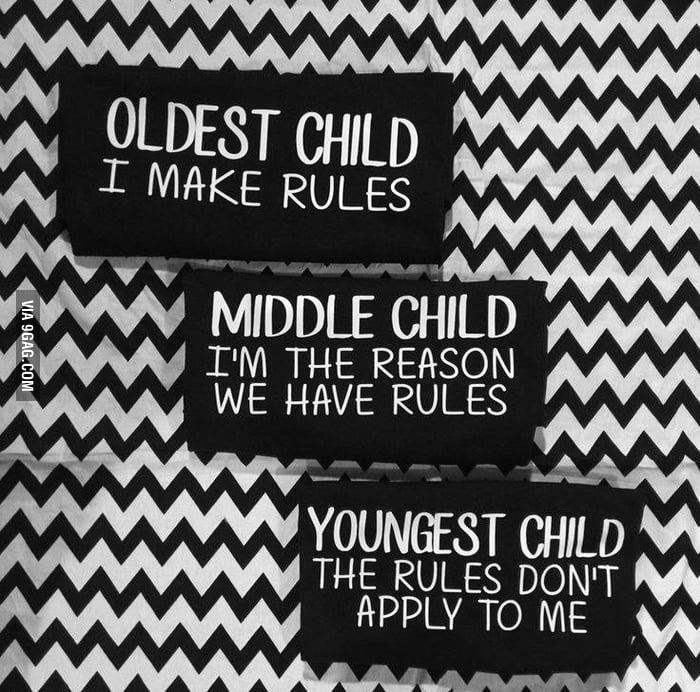 I'm the middle child
