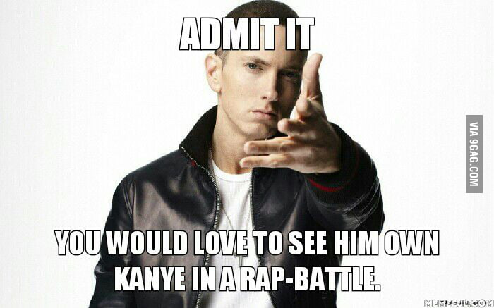 Just admit it.