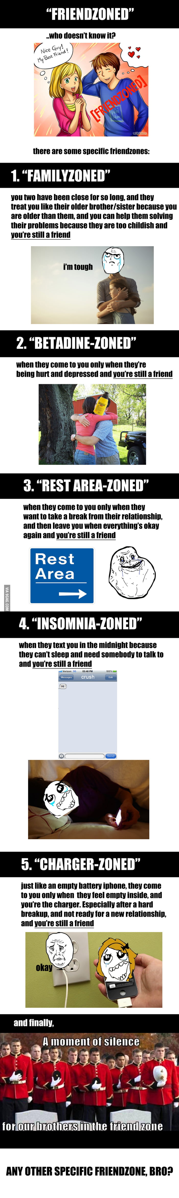 Any other zones other than the friend-zone?