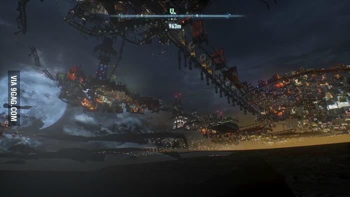 So I just fell through the floor in Arkham Knight...
