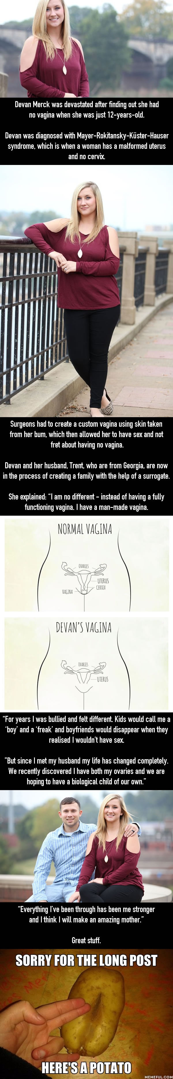 Woman Born Without A Vagina Hoping To Start A Family