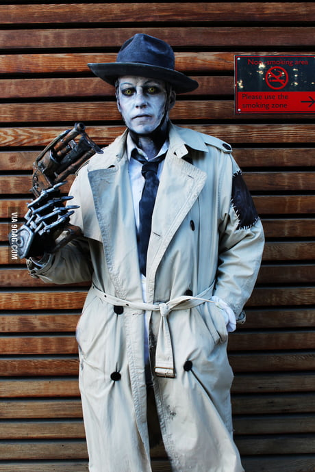 Nick Valentine cosplay from Fallout 4