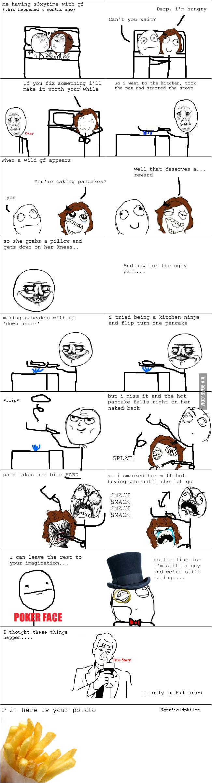 Pancakes Rage Comic