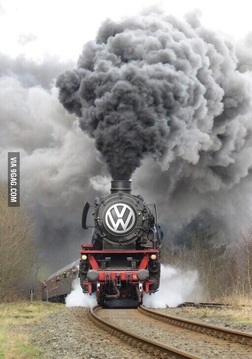 VW be like...