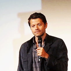 Misha Collins being a cutiepie