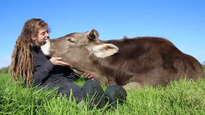 Treat animals with kindness and they will treat you with kindness in return