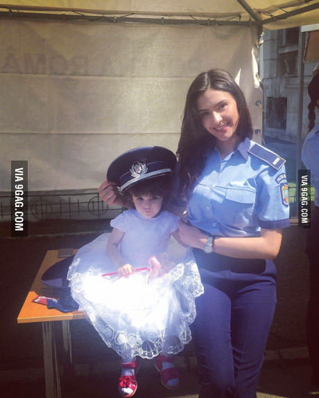 Just a normal Romanian police