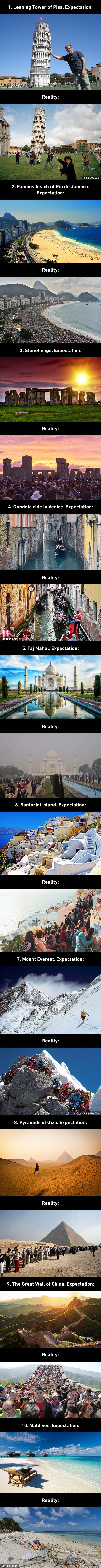 Top 10 Travel Expectations Vs Reality Which May Make You Rethink Your Vacation