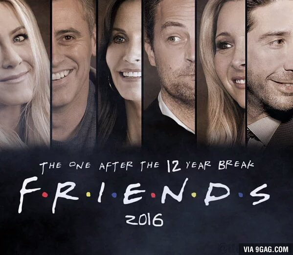 Friends Reunion, it's finally happening!