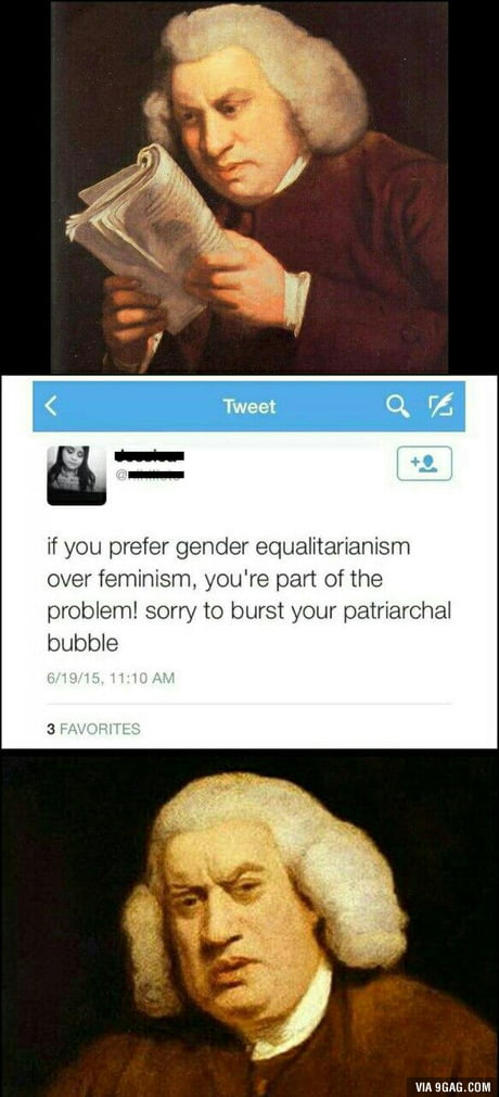 Equality=patriarchy