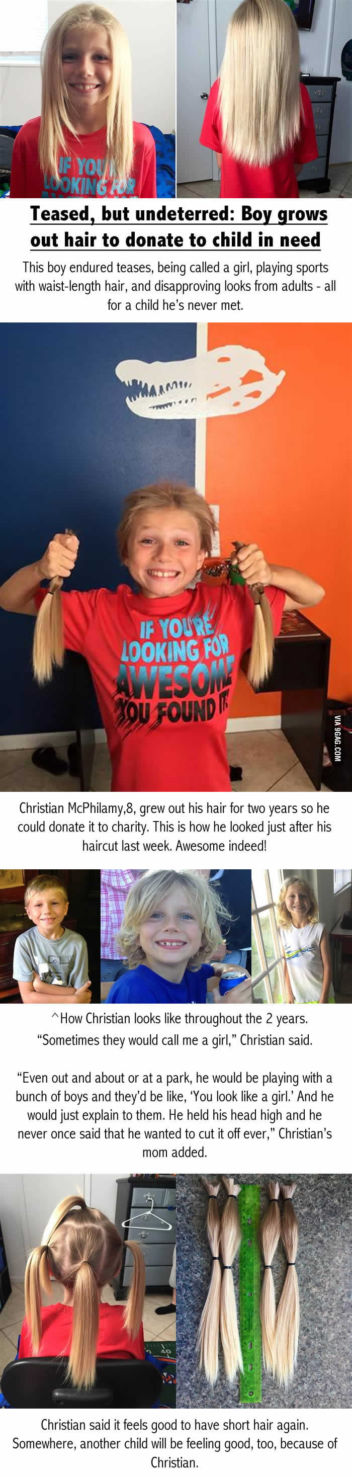 This kid is going places! Faith in humanity restored!
