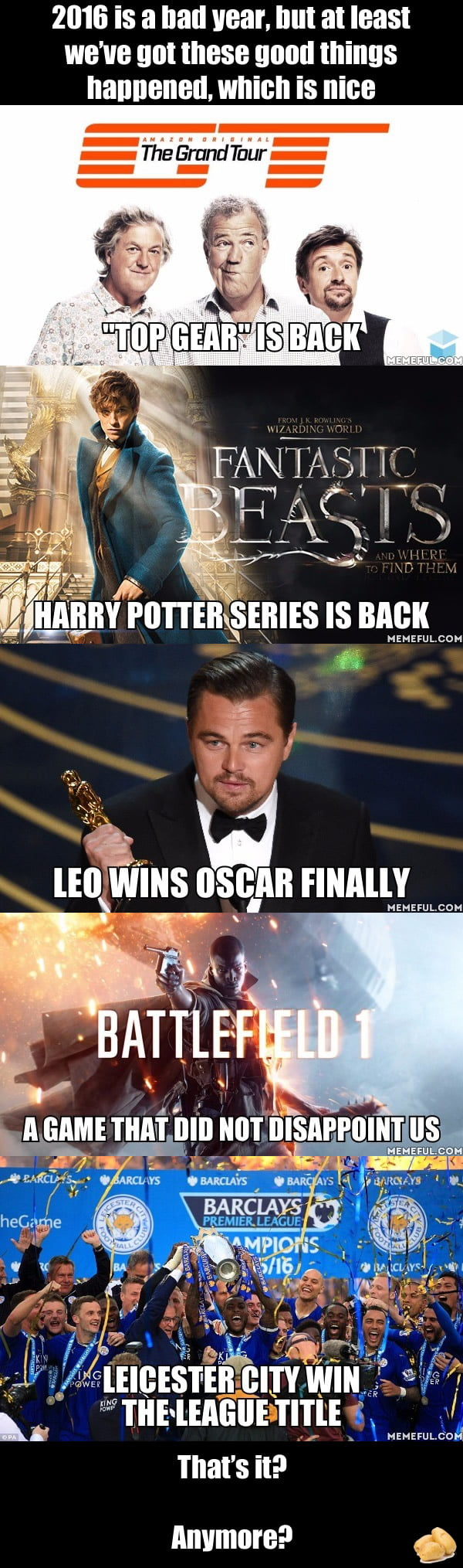 Ask 9GAG: What are the good things we have in 2016?