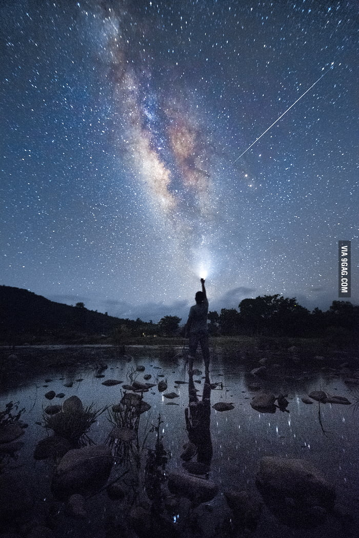 Saw so many Milky Way Photographs here. Thought of Sharing mine.