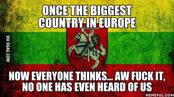 It's called Lithuania