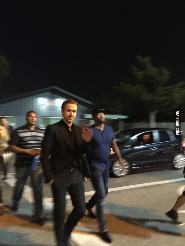 Everything Is Out Of Focus Except Ridiculously Photogenic Ryan Gosling