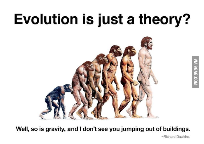 "But it's just a ""theory""..."