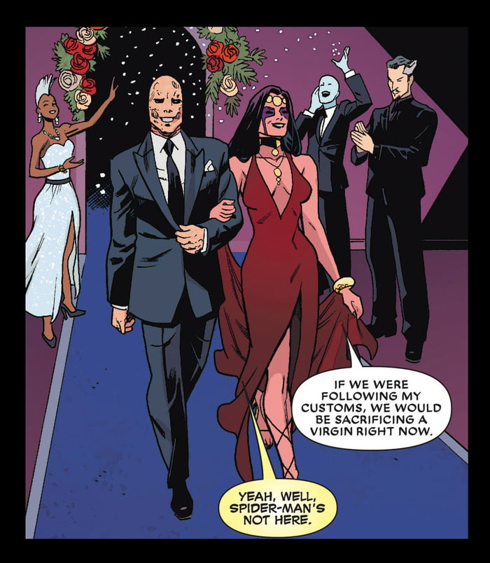Deadpool gets married