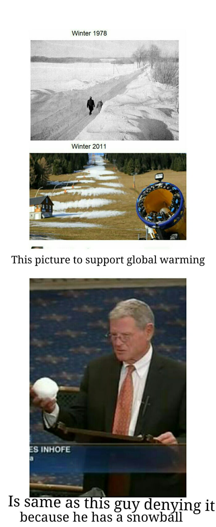 Climate change is real!!