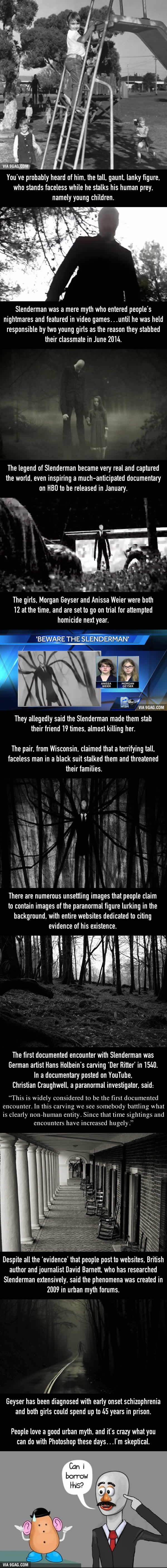 The Truth Behind Slenderman, The Creepy Figure That Inspired Murder