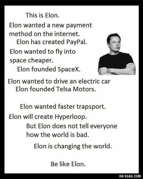 Be like Elon!!: The,best,free,download