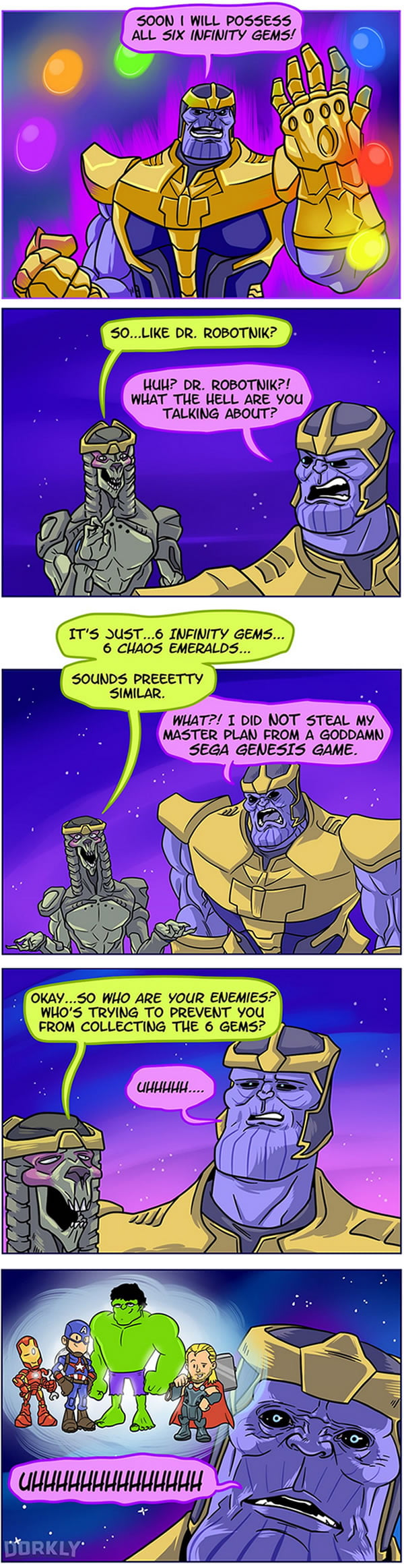 The Terrible Truth About Thanos