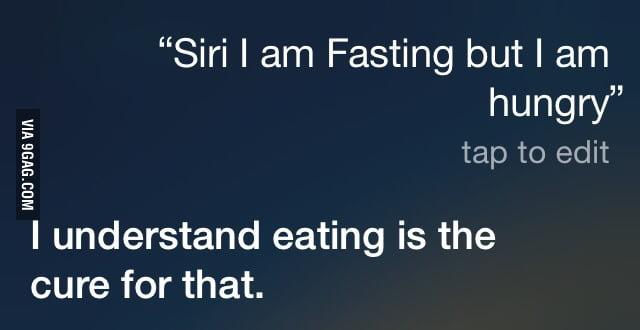 Siri, you pragmatic devil!