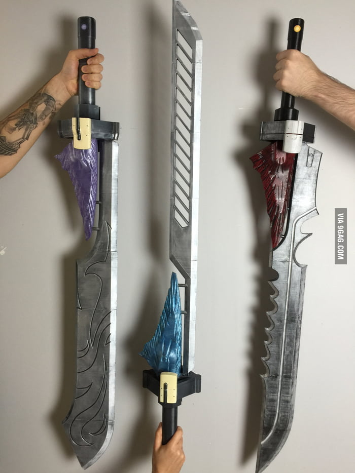You like Icebreaker... What about these exotic Swords? (3D Printed)