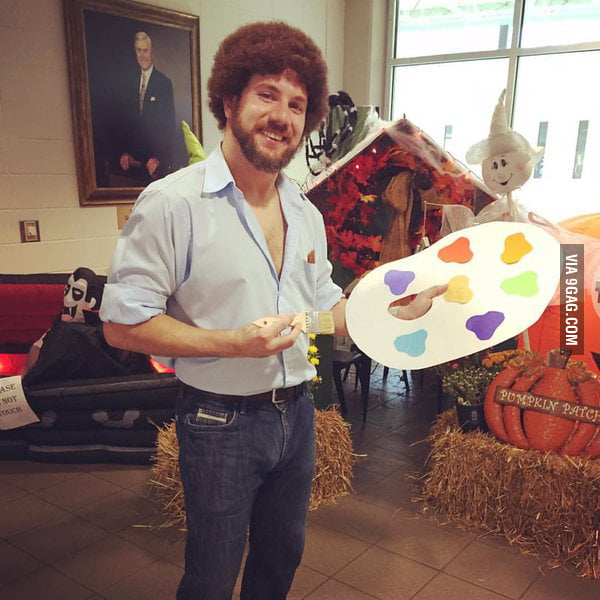 None of the kids at the YMCA knew who his costume was supposed to be