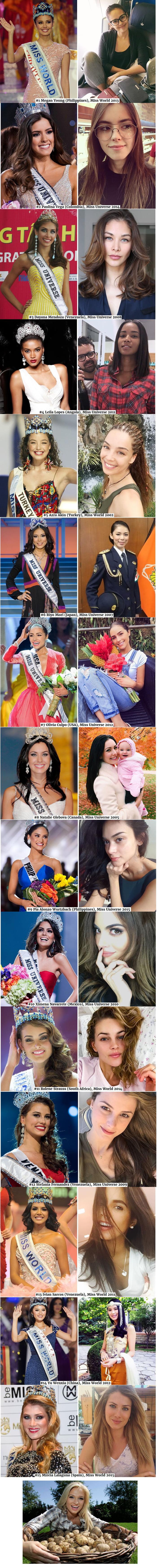 Here's what winning Beauty Queens look like off duty.