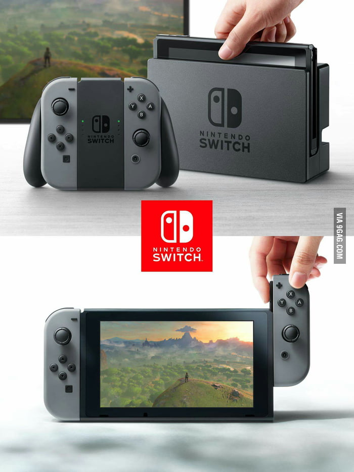 The Nintendo Switch is here What do you all think?
