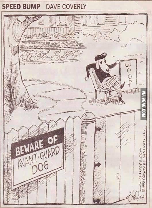 Avant Guard Dog