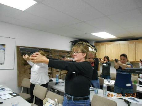 'Gun safety class'