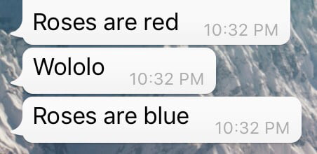 Best Roses Are Red Poem Ever I Love Funny Things