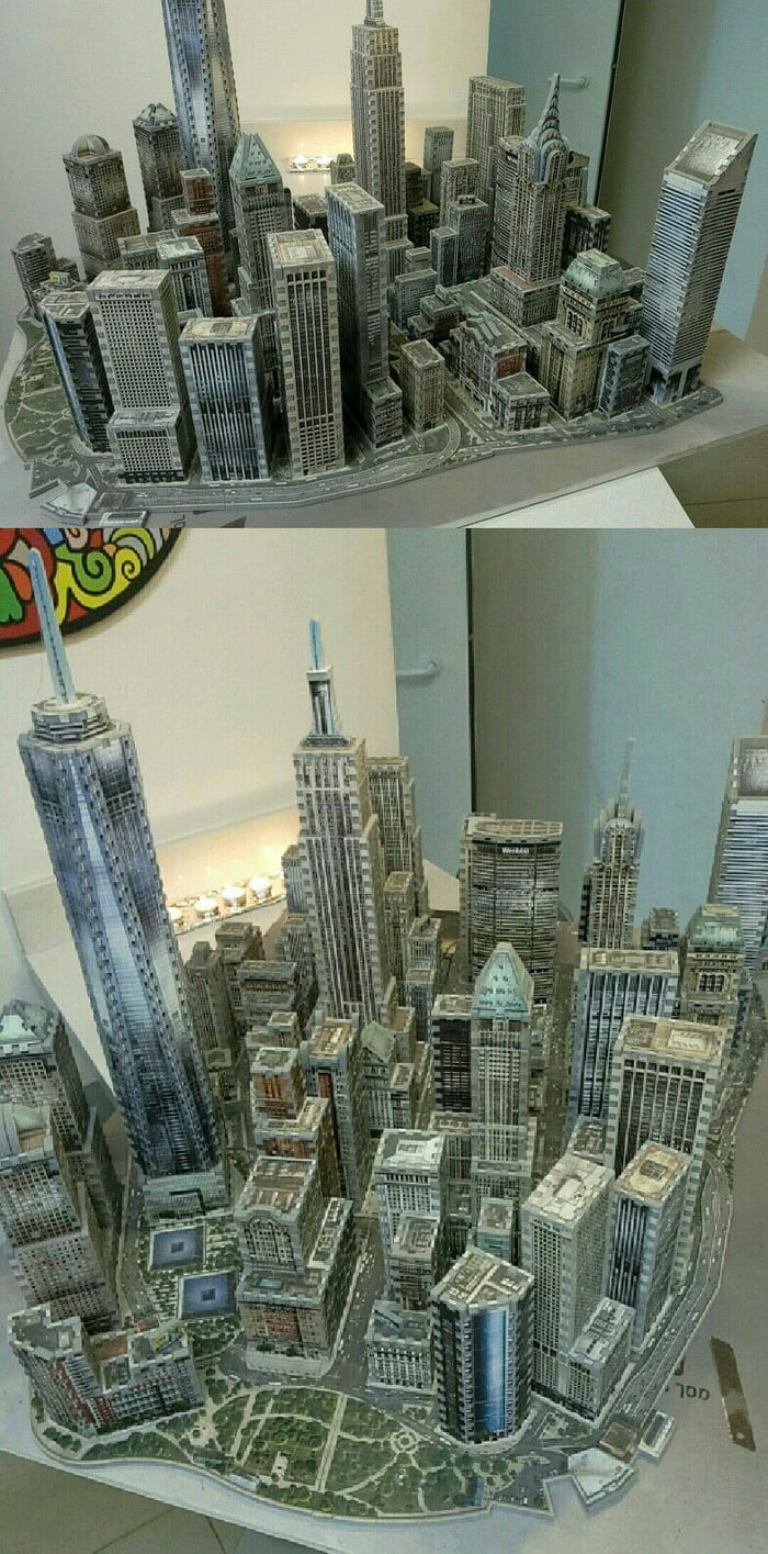 4000 piece Manhattan built by me. What do you guys think?